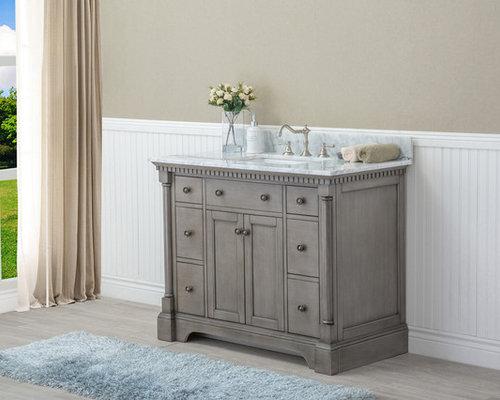Stella Bathroom Vanity Antique Grey - Antique grey bathroom vanity