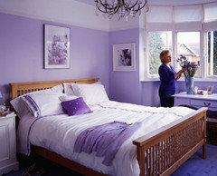 Color Lavanda Per Pareti : Pareti lilla camera da letto u2013 idee di immagini di casamia