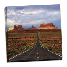 Fine Art Photograph, Monument Valley IV, Hand-Stretched Canvas