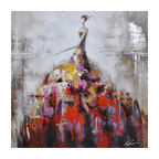 Dance Of Life II Art Painted On Canvas