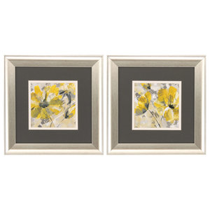 """Buttercup"" Framed Artwork, Set of 2"