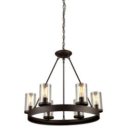 Fresh Transitional Chandeliers by Build
