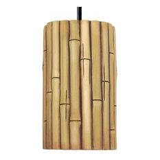 Bamboo Pendant Natural, Natural