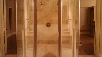 Frame less Shower Enclosure