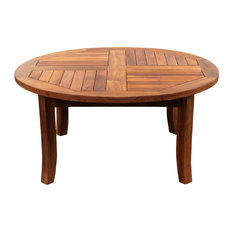 Teak Wood Italy Round Coffee Table