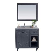 Laviva Odyssey 36-inch Maple Grey Cabinet