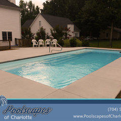 Poolscapes Of Charlotte Swimming Pool Builders In