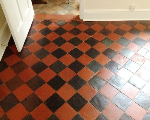 Victorian And Quarry Tiled Floors Restored In Shrewsbury