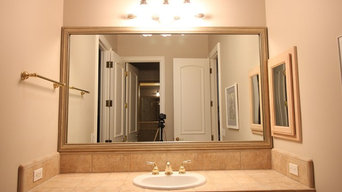 Before & After Bathroom Mirror