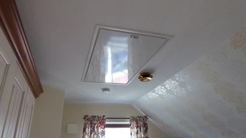 Dachboden Ruckzuck Treppe Mitten Im Zimmer Wie Verstecken