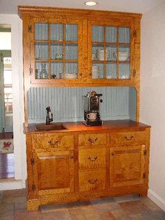 Adding Beadboard To Cabinet Interiors
