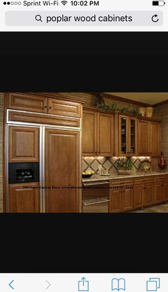 Yes Tatts, I Have Seen Poplar Cabinets. In Fact Here Are Some Pics
