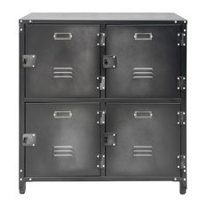 2-Tier Steel Storage Locker