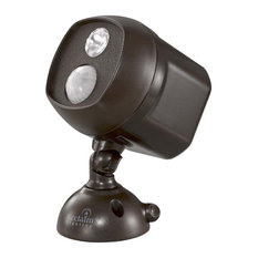 """Acclaim Lighting B225 Battery Operated 6.25"""" Tall LED Outdoor, Bronze"""