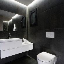 Aprovechar la pared exterior para empotrar cisterna WC