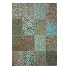 Vintage Area Rug, Sea Blue, 140x200 cm