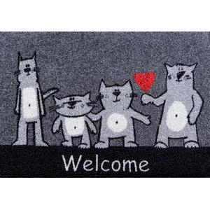 Clean Keeper Cats Welcome Back Doormat