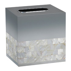Mother of Pearl Boutique Tissue Holder