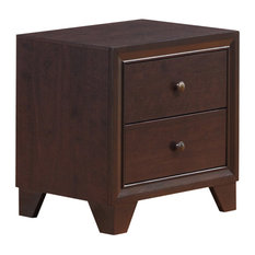 Global Furniture Noma Nightstand Dark Merlot by Global Furniture USA