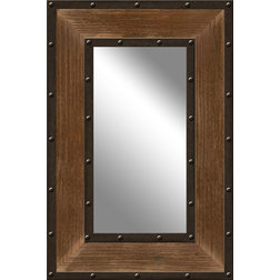 Rustic Wall Mirrors by PTM IMAGES