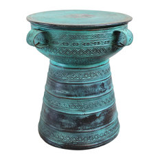 Copper Rain Drum Table
