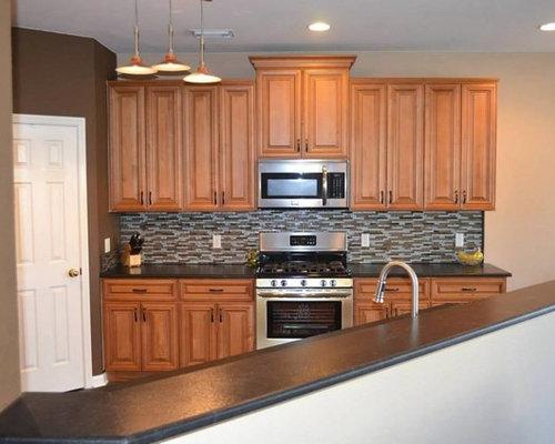 Charleston Toffee Kitchen Cabinets