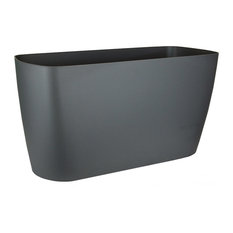 American Essence Tulsa Planter, Metallic Charcoal