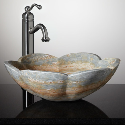 stone vessel sinks bathroom carved stone vessel sinks