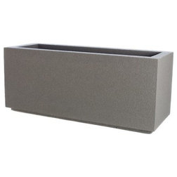 Contemporary Outdoor Pots And Planters by PolyStone Planters