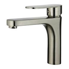 Donostia Single Handle Bathroom Vanity Faucet, Brushed Nickel