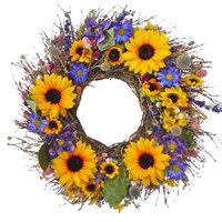 Sunflower Bouquet Wreath, Large