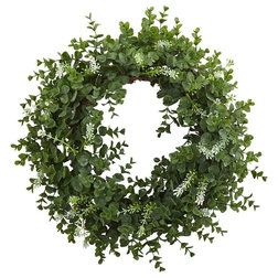 Contemporary Wreaths And Garlands by ShopLadder