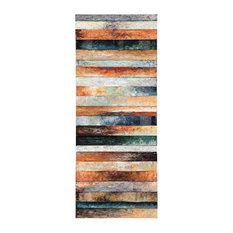 Odiana Multi-Color Wood/Metal Wall Decor