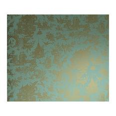 Zen Garden Toile Wallpaper