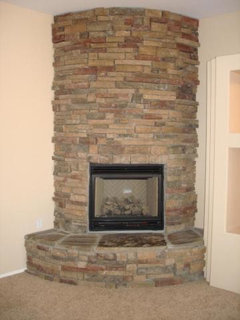 How Do I Put Faux Stone On A Beehive Fireplace