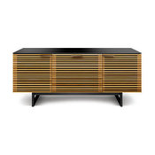Corridor Medium Media Console, White Oak