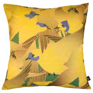 Hirunda Cushion Cover, Yellow