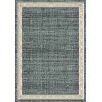 "Yazd 1770-590 Area Rug, Blue And Gray, 2'x7'7"" Runner"
