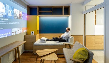 Avant/Après : À Paris, 29 m2 idéalement optimisés grâce à Houzz