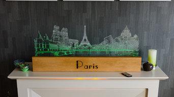 Paris Sculpture- Mantlepiece Feature