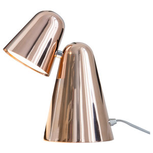 Formagenda Peppone Table Lamp, Polished Copper