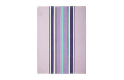 Lavender Medium-Striped Kitchen Towel