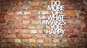 3D Wandbild: Do more of what makes you happy