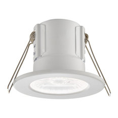 Shieldeco Fire Rated IP65 4 W Downlight, Matte White