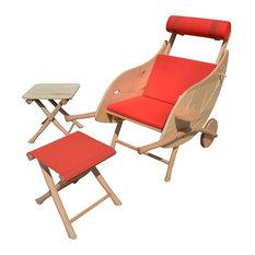 Chaises longues de jardin et transats contemporains for Chaises longues et transats