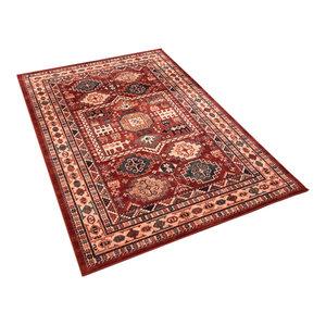 Kashqai Rectangular Traditional Rug, 160x240 cm