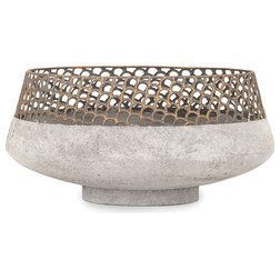 Industrial Decorative Bowls by IMAX Worldwide Home
