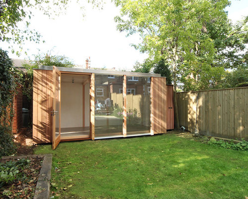 3 bay modular garden office muswell hill for Modular garden rooms
