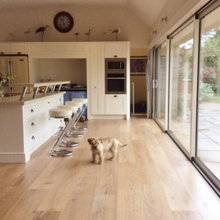 Kitchens with Wood Floors