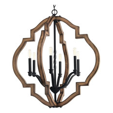 Progress Lighting Spicewood 6-Light, Chandelier, Gilded Iron